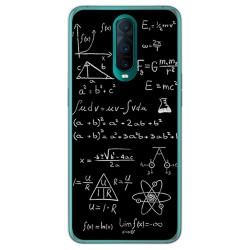 Funda Gel Tpu para Oppo RX17 Pro diseño Formulas Dibujos