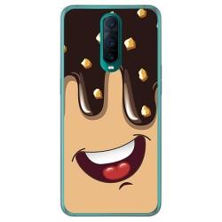 Funda Gel Tpu para Oppo RX17 Pro diseño Helado Chocolate Dibujos