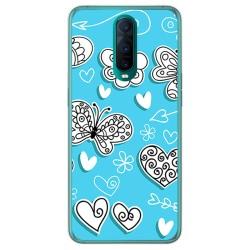 Funda Gel Tpu para Oppo RX17 Pro diseño Mariposas Dibujos