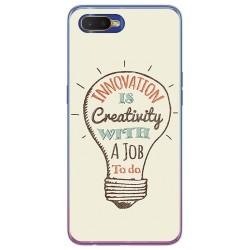 Funda Gel Tpu para Oppo RX17 Neo diseño Creativity Dibujos