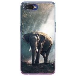 Funda Gel Tpu para Oppo RX17 Neo diseño Elefante Dibujos
