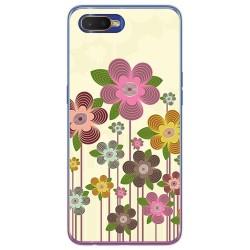 Funda Gel Tpu para Oppo RX17 Neo diseño Primavera En Flor Dibujos
