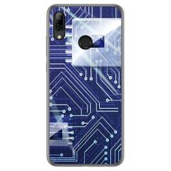 Funda Gel Tpu para Huawei P Smart 2019 / Honor 10 Lite diseño Circuito Dibujos