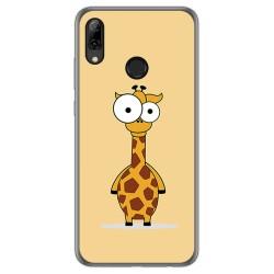 Funda Gel Tpu para Huawei P Smart 2019 / Honor 10 Lite diseño Jirafa Dibujos