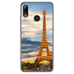 Funda Gel Tpu para Huawei P Smart 2019 / Honor 10 Lite diseño Paris Dibujos