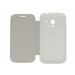 Funda  Tipo Flip Cover Samsung Galaxy Ace 2 I8160 Color Blanca
