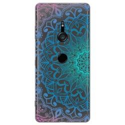 Funda Gel Transparente para Sony Xperia XZ3 diseño Mandala Dibujos
