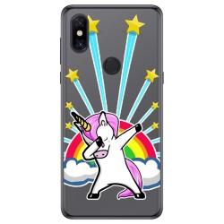 Funda Gel Transparente para Xiaomi Mi Mix 3 diseño Unicornio Dibujos