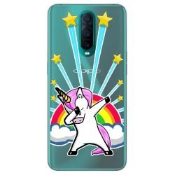 Funda Gel Transparente para Oppo RX17 Pro diseño Unicornio Dibujos