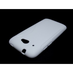 Funda Gel Tpu HTC Desire 601 S Line Color Blanca