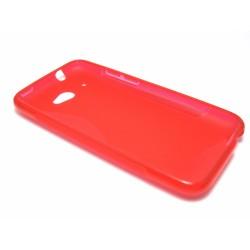 Funda Gel Tpu HTC Desire 601 S Line Color Roja