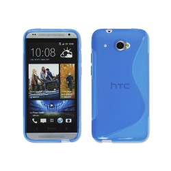 Funda Gel Tpu HTC Desire 601 S Line Color Azul