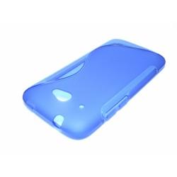 Funda Gel Tpu HTC Desire 601 S Line Color Azul