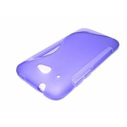 Funda Gel Tpu HTC Desire 601 S Line Color Morada