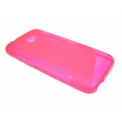 Funda Gel Tpu HTC Desire 601 S Line Color Rosa