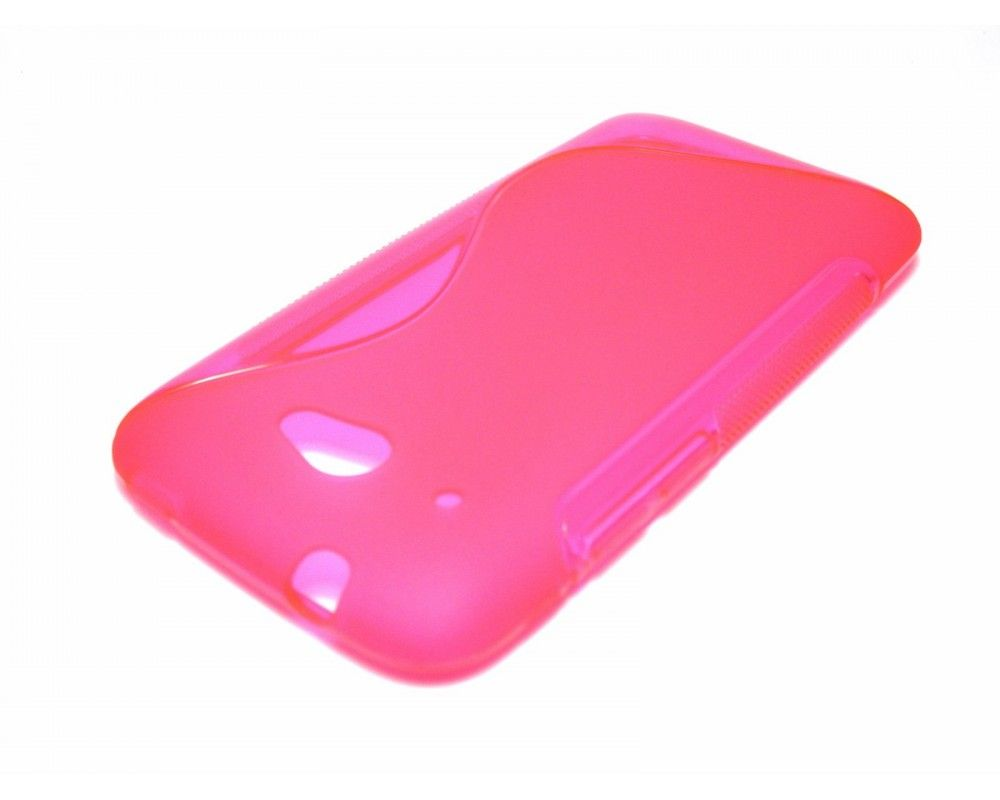 Funda Gel Tpu HTC Desire 601 S Line Color Rosa