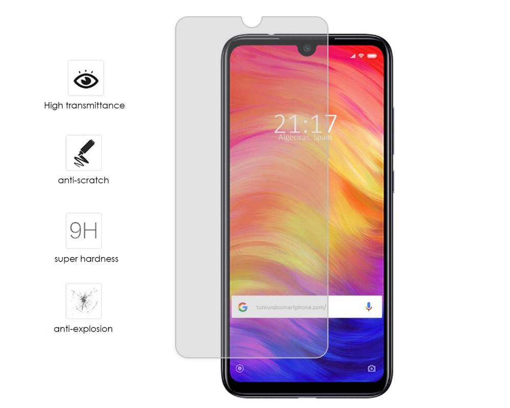 7f13c1c5737 Protector Templado Transparente Xiaomi Redmi Note 7 |Envio Gratis