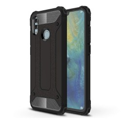 Funda Tipo Hybrid Tough Armor (Pc+Tpu) Negra para Huawei P Smart 2019 / Honor 10 Lite