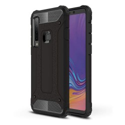 Funda Tipo Hybrid Tough Armor (Pc+Tpu) Negra para Samsung Galaxy A9 (2018)