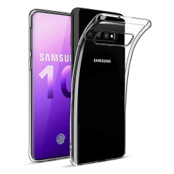 Funda Gel Tpu Fina Ultra-Thin 0,5mm Transparente para Samsung Galaxy S10 Plus