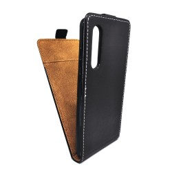 Funda Piel Premium Negra Ultra-Slim para Huawei P30