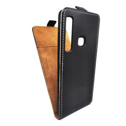 Funda Piel Premium Negra Ultra-Slim para Samsung Galaxy A9 (2018)