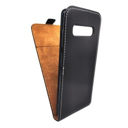 Funda Piel Premium Negra Ultra-Slim para Samsung Galaxy S10 Plus