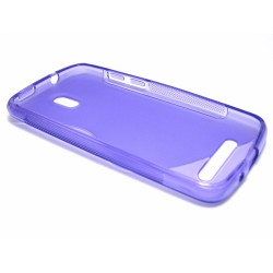 Funda Gel Tpu HTC Desire 500 S Line Color Morada