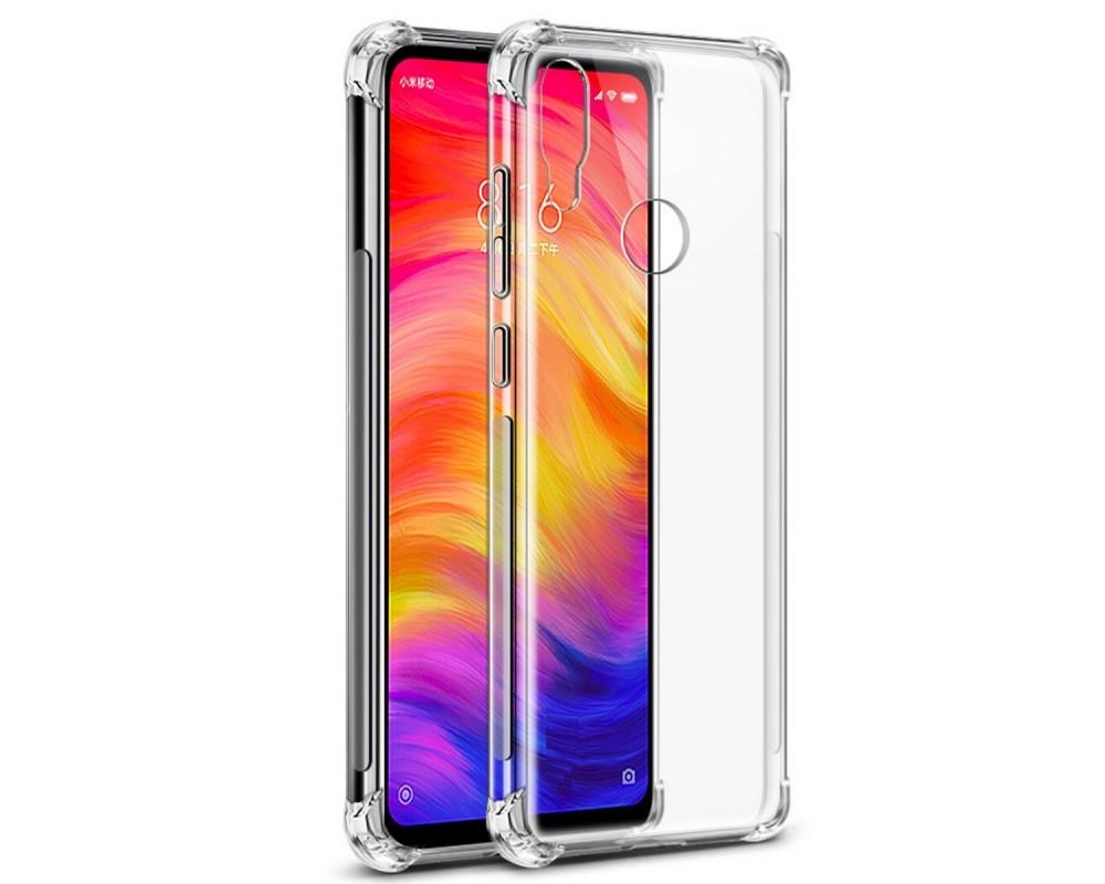 Funda Gel Tpu Anti-Shock Transparente para Xiaomi Redmi Note 7
