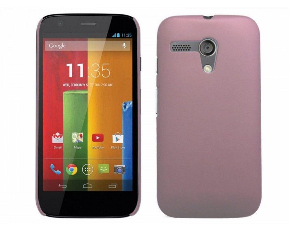 Carcasa Dura Motorola Moto G Color Rosa