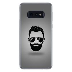 FUNDA de GEL TPU para Samsung Galaxy S10e diseño Barba Dibujos