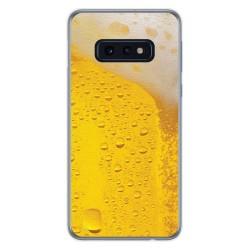 FUNDA de GEL TPU para Samsung Galaxy S10e diseño Cerveza Dibujos