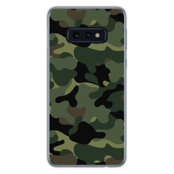FUNDA de GEL TPU para Samsung Galaxy S10e diseño Camuflaje Dibujos