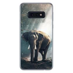 FUNDA de GEL TPU para Samsung Galaxy S10e diseño Elefante Dibujos
