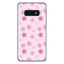 FUNDA de GEL TPU para Samsung Galaxy S10e diseño Flores Dibujos