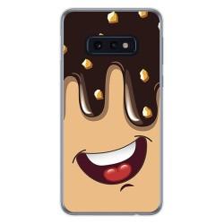 FUNDA de GEL TPU para Samsung Galaxy S10e diseño Helado Chocolate Dibujos