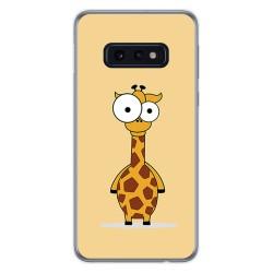 FUNDA de GEL TPU para Samsung Galaxy S10e diseño Jirafa Dibujos