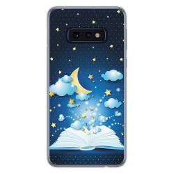 FUNDA de GEL TPU para Samsung Galaxy S10e diseño Libro Cuentos Dibujos