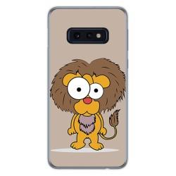 FUNDA de GEL TPU para Samsung Galaxy S10e diseño Leon Dibujos