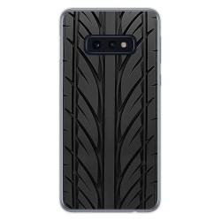 FUNDA de GEL TPU para Samsung Galaxy S10e diseño Neumatico Dibujos