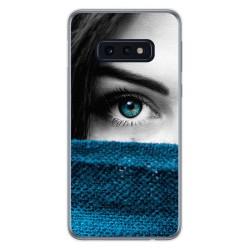 FUNDA de GEL TPU para Samsung Galaxy S10e diseño Ojo Dibujos