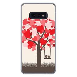 FUNDA de GEL TPU para Samsung Galaxy S10e diseño Pajaritos Dibujos