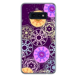 FUNDA de GEL TPU para Samsung Galaxy S10e diseño Radial Dibujos
