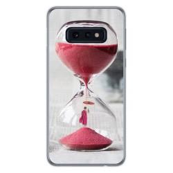 FUNDA de GEL TPU para Samsung Galaxy S10e diseño Reloj Dibujos