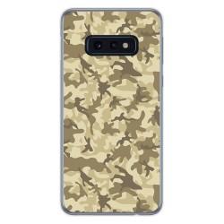 FUNDA de GEL TPU para Samsung Galaxy S10e diseño Sand Camuflaje Dibujos