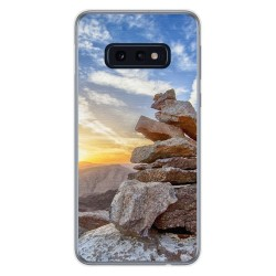 FUNDA de GEL TPU para Samsung Galaxy S10e diseño Sunset Dibujos