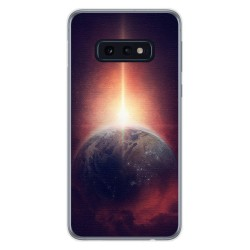 FUNDA de GEL TPU para Samsung Galaxy S10e diseño Tierra Dibujos