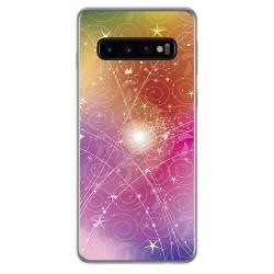 FUNDA de GEL TPU para Samsung Galaxy S10 Plus diseño Abstracto Dibujos