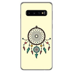 FUNDA de GEL TPU para Samsung Galaxy S10 Plus diseño Atrapasueños Dibujos