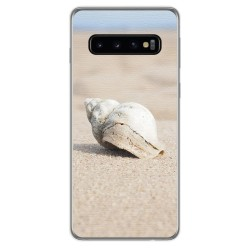 FUNDA de GEL TPU para Samsung Galaxy S10 Plus diseño Concha Dibujos